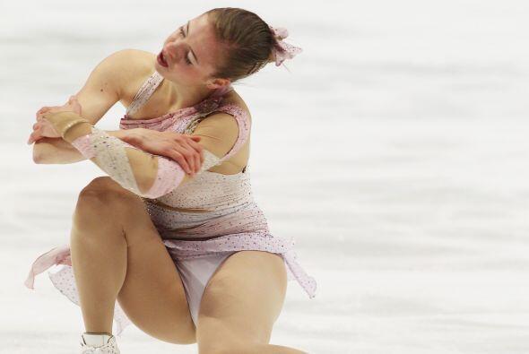 Italia se llevó el bronce con la patinadora Carolina Kostner, quien elig...