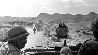 En fotos: La guerra con la que en 6 días Israel cambió el mapa del Medio Oriente