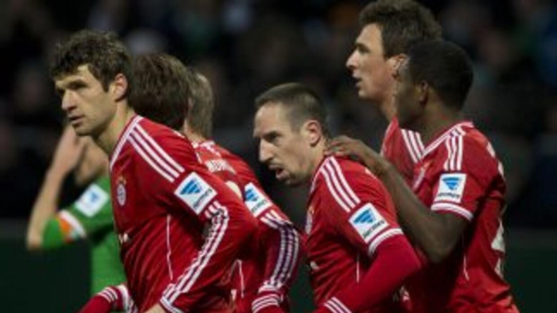 Bayern no tuvo piedad del Werder Bremen.