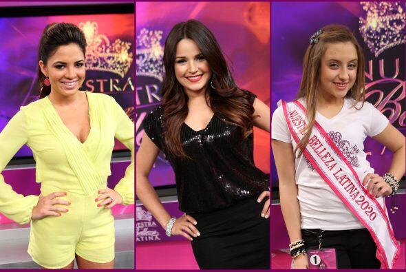 Pamela Silva Conde, Gredmarie Colón y Gabriela Borges disfrutaron de la...