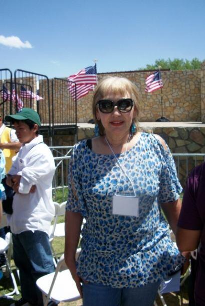 Nuestra querida Comadre, Teresa Fendi estuvo presente en esta visita pre...