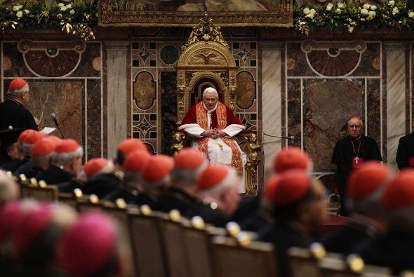 El líder de la iglesia católica afirmó que la pedofilia y los problemas...