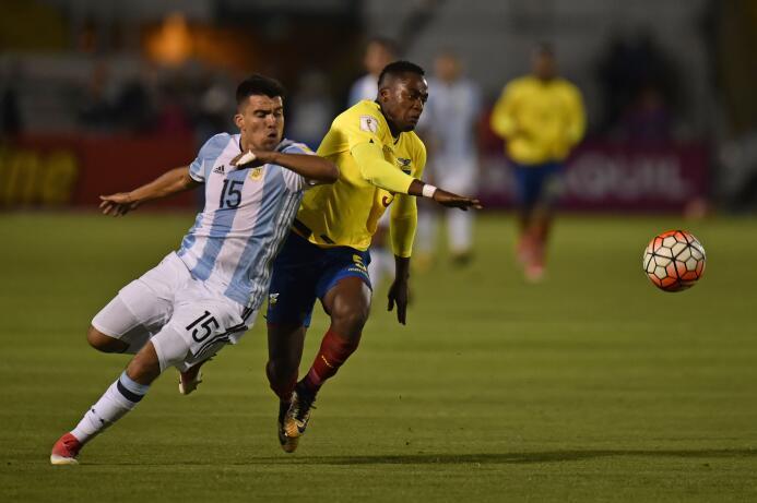 Renato Ibarra (Ecuador): el jugador del América disputó los 180 minutos...