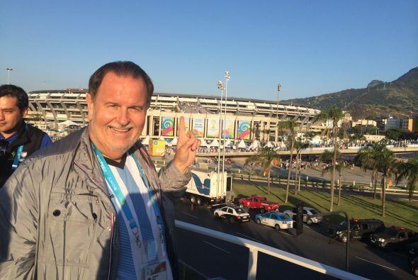 Raúl de Molina está disfrutando al máximo de todos los partidos del Mund...