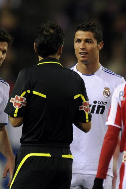 Cristiano era de los que más reclamaba a los árbitros.