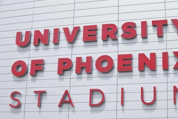 La afición en Estados Unidos llegó a Phoenix con todo su colorido para v...
