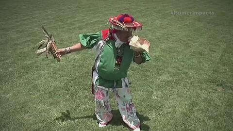 Chamán realizó ritual para asegurar victoria de México