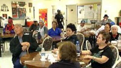 Personas jubiladas en el centro comunitario de Phoenix