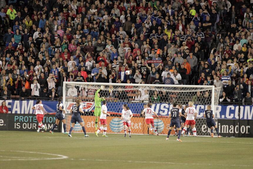 Es partido amistoso disputado en el Toyota Stadium en Frisco, USA ganó 2...