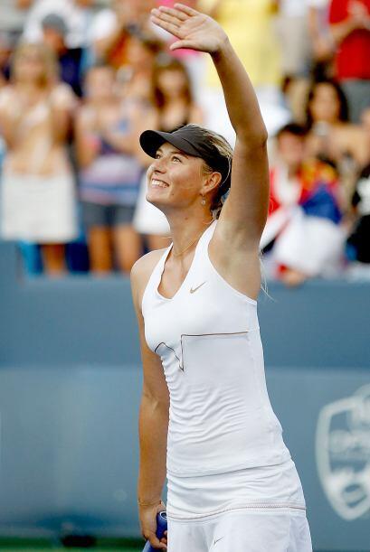 La rusa Maria Sharapova es la tenista que más puntos ha sumado en 2011,...