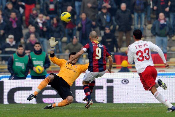 Los 'rossoneri' se enfrentaron al Bolognia, que salió respondón desde el...