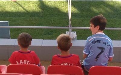 Óliver Torres, seguidor del Atlético de Madrid y de NYCFC.