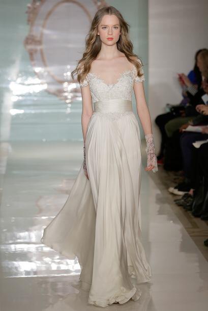 Con una falda más vaporosa se crea un 'look' etéreo y natural, lo que se...