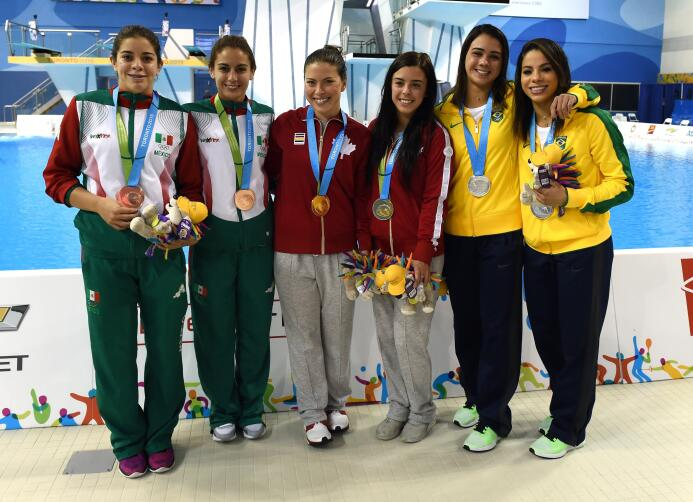La mexicana Paola Espinosa no pudo revalidar el oro en la final de clava...