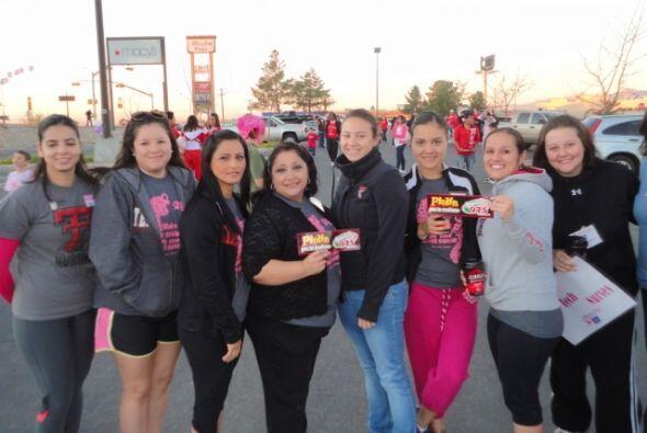 La carrera que apoya la cura contra el cáncer de seno, 'Making Strides'...