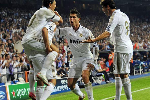 El portugués finalizó una muy buena jugada colectiva y el Madrid ganaba...