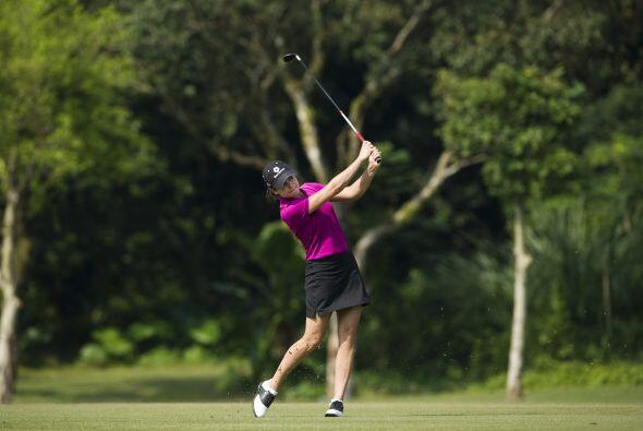La mejor golfista mexicana, Lorena Ochoa.