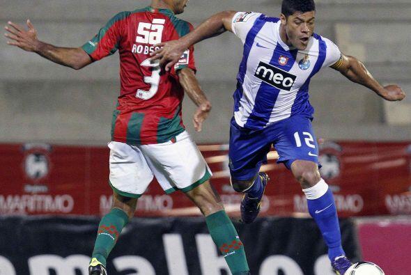 El hombre de ataque del Oporto fue la figura de su equipo ante Marítimo.