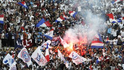 Nacional derrotó a Peñarol y es campeón del fútbol uruguayo
