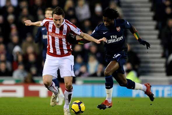 El Stoke City recibió al Arsenal en esta tormentosa y 'shakespearana' jo...
