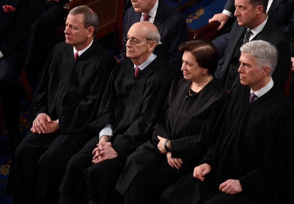 Cuatro jueces de la Corte Suprema presentes en el discurso del Estado de...