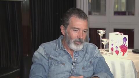 En confianza: Tanya Charry entrevistó a Antonio Banderas y el actor le h...
