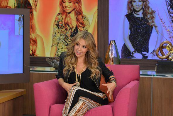Thalía dijo que fue su madre quien le dio el impulso y la fuerza para se...