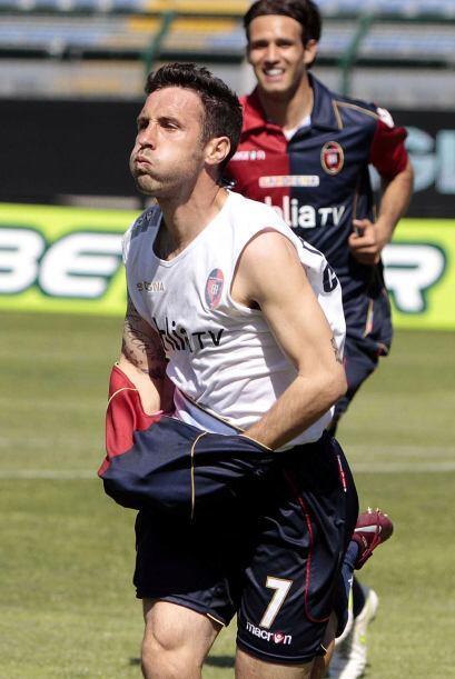 Cagliari recibió al Brescia y los locales abrieron el marcador por inter...
