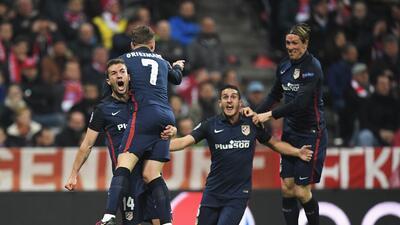 Griezmann anotó el gol que mató al Bayern