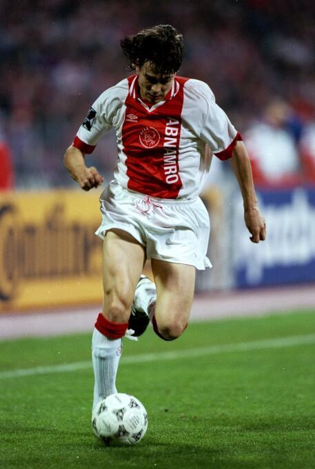 Temporada 1995/1996 - Jari Litmanen (Ajax Amsterdam) con 9 goles.