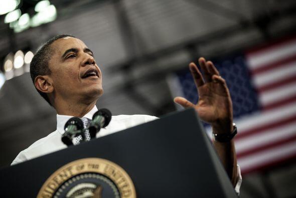 """Barack Obama abogó este martes por la """"regla Buffett"""", una redefinición..."""