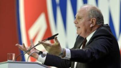 Uli Hoeness, presidente del Bayern, fue tajante y aseguró que el equipo...