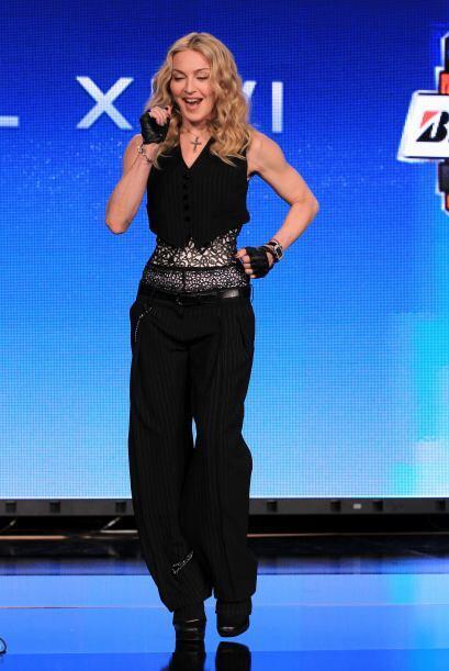 Madonna mostró a los medios de comunicación lo bien que baila la salsa.