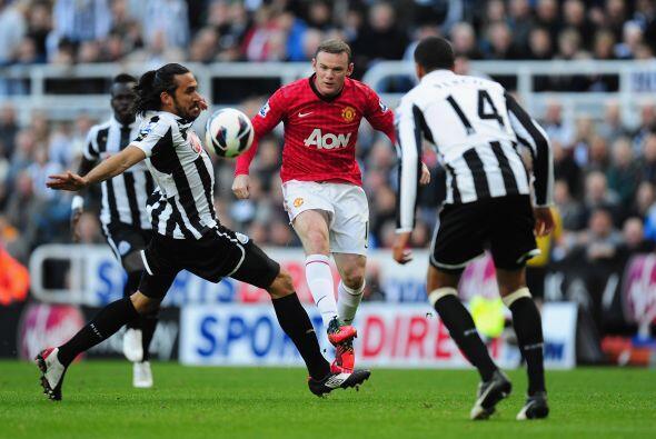 El líder en todos sentidos para el United movía los hilos desde el medio...