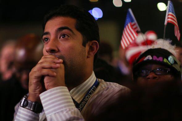 El presidente Barack Obama ganó en los estados de Ohio, Nuevo Mex...