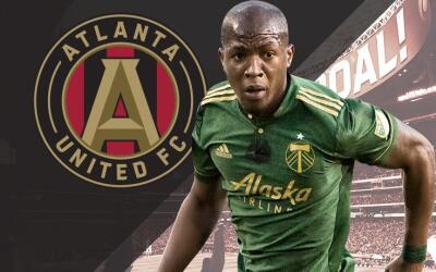 Darlington Nagbe a Atlanta United
