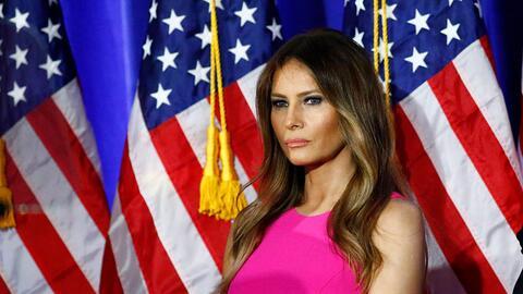 Melania Trump ha defendido la mano dura de su marido en materias de inmi...