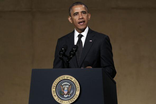 Este jueves Obama inauguró de manera emotiva el Museo del 11 de S...