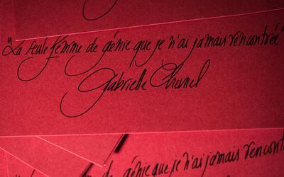 Arte especial: El arte de escribir a mano