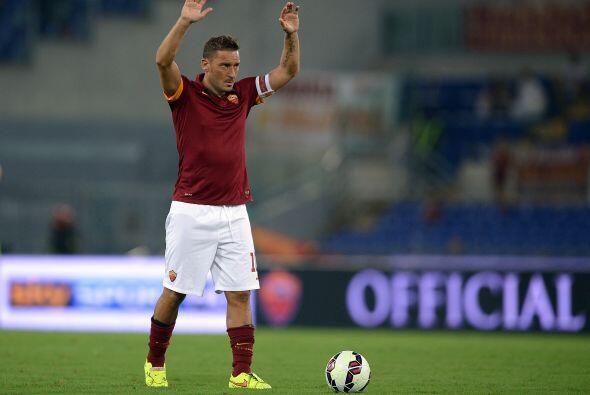 El eterno capitán de la Roma, considerado uno de los mejores juga...
