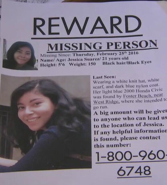 Se cumple un mes de la desaparición de Jessica Suárez