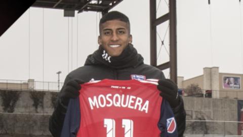 Santiago Mosquera, nuevo atacante de FC Dallas.