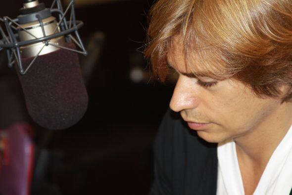 """El cantante venezolano Carlos Baute nos compartió su nuevo exito """"En el..."""