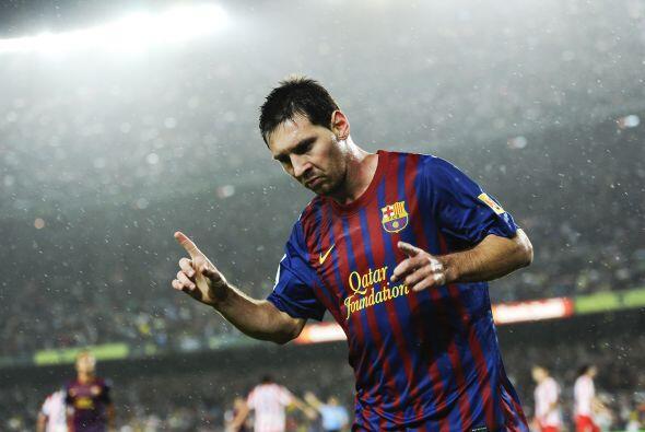 Messi marcó un 'hat-trick' y causó un autogol en favor de los suyos para...