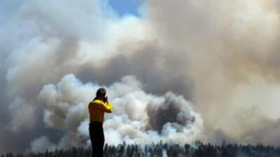Los incendios forestales en Big Lake, en Arizona, causaron estragos.