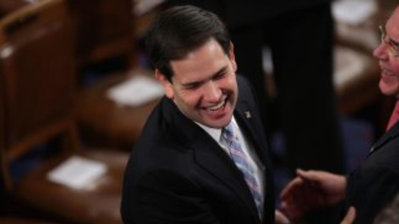 El senador de origen cubano Marco Rubio, potencial aspirante a las presi...