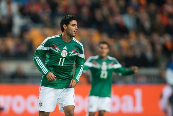 Pese a que la actuación de Carlos Vela y sus goles contra Holanda acapar...