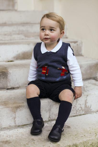 La sesión fue realizada dentro del palacio real de Kensington, el prínci...