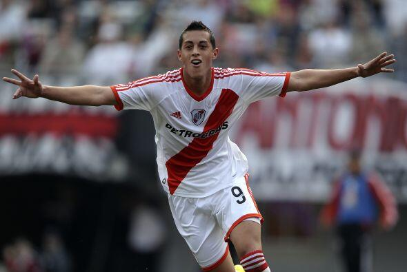 Rogelio Funes Mori es, sin duda, un futbolista con buen presente en Rive...