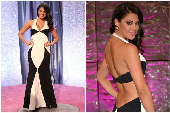 Elegante y sensual, así fue el look de la participante de la tercera tem...